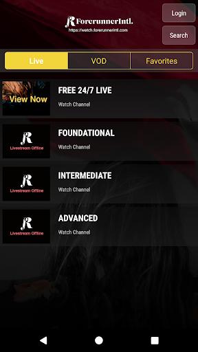 ForerunnerIntl. screenshot 2