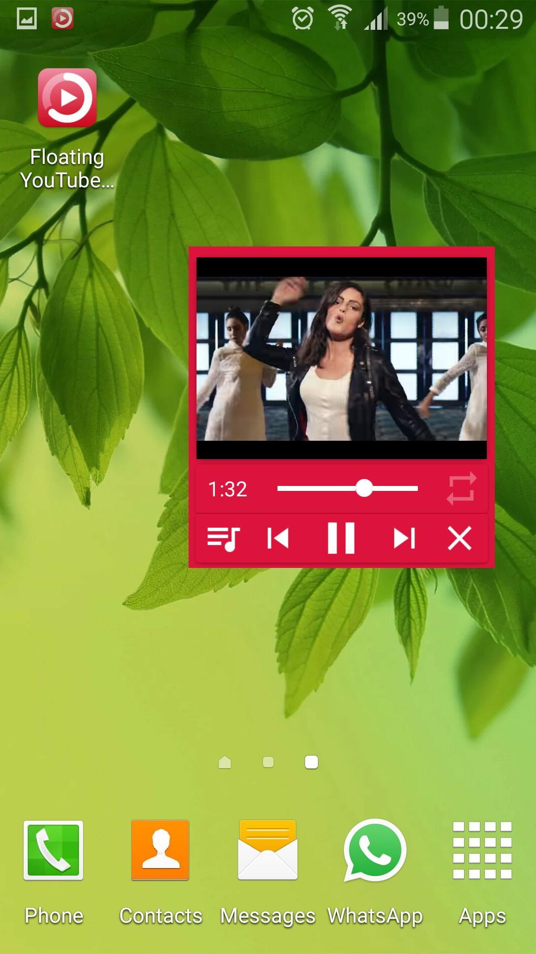 Floating IamTube Music Player screenshot 4