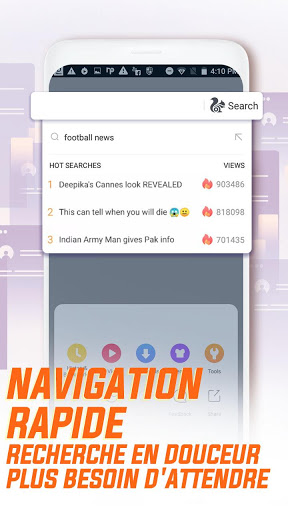 UC Browser - Naviguez vite screenshot 5