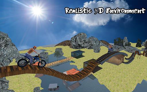 Ramp Bike Impossible Bike Stunt Game 2020 screenshot 1