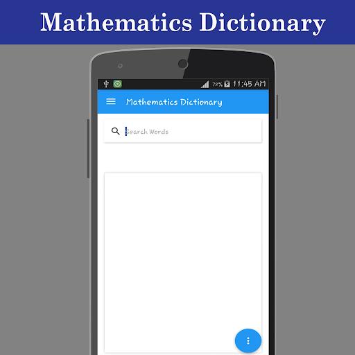 Mathematics Dictionary screenshot 1
