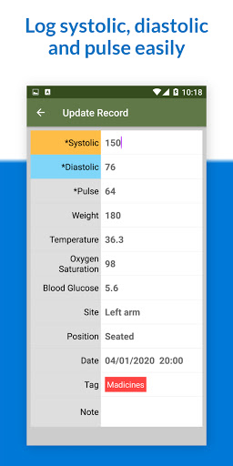 Blood Pressure Tracker screenshot 7