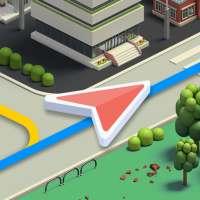 Karta GPS 내비게이션 - 데이터 필요없는 오프라인 내비게이션 on 9Apps