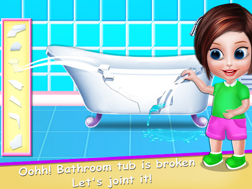 House Cleaning - Home Cleanup Girls Game screenshot 6