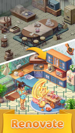 Jellipop Match-Decorate your dream island! screenshot 4