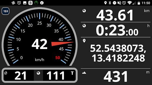 Speedometer analog, digital with odometer and HUD screenshot 2