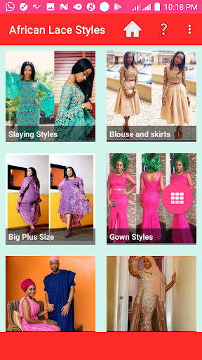 AFRICAN LACE STYLES 2021 screenshot 1