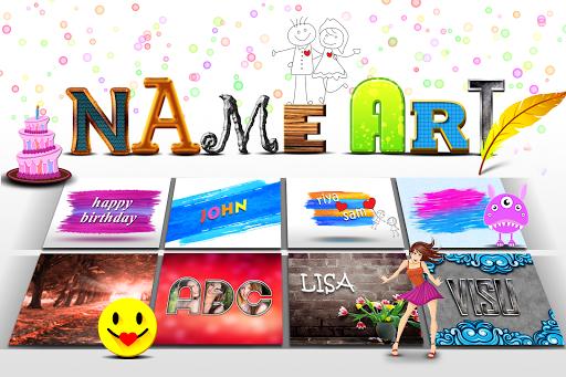 Name Art- Photo Editor 9 تصوير الشاشة