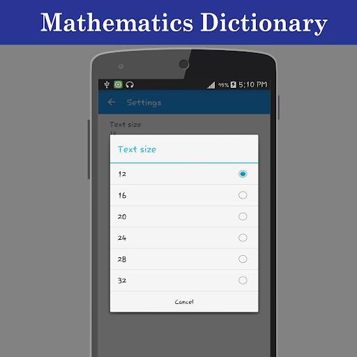 Mathematics Dictionary screenshot 7