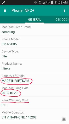 Phone INFO ★SAM★ screenshot 1