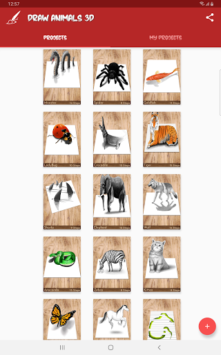 تعليم رسم الحيوانات 9 تصوير الشاشة