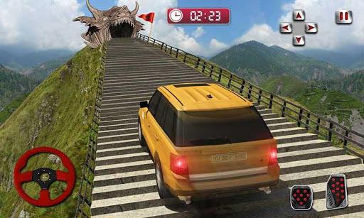 Cruiser Car Stunts: Dragon Road Driving Simulator screenshot 4
