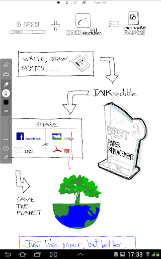 INKredible - Handwriting Note 14 تصوير الشاشة