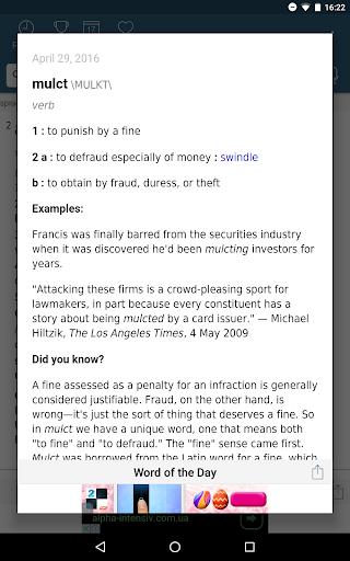 Dictionary - Merriam-Webster screenshot 13