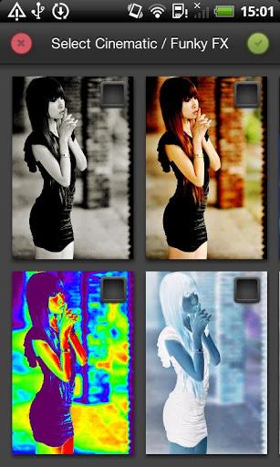 Photo FX Live Wallpaper 6 تصوير الشاشة