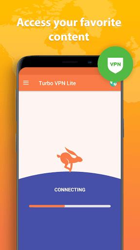 Turbo VPN Lite - Free VPN Proxy Server & Fast VPN screenshot 4
