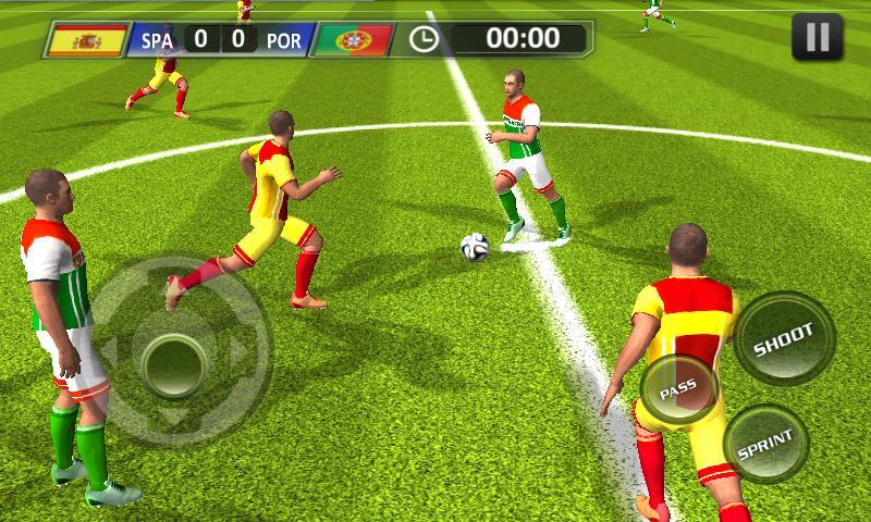 Real Football 2018 3 تصوير الشاشة