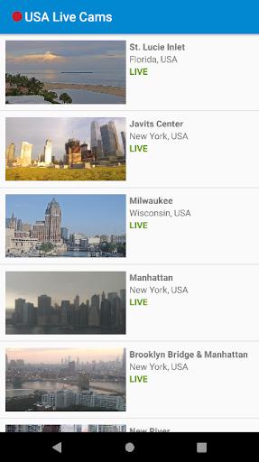 USA Live Cams in HD 1 تصوير الشاشة