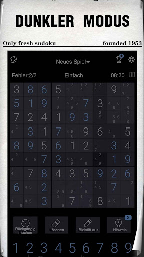 Sudoku - Kostenlose klassische Sudoku Puzzles screenshot 8