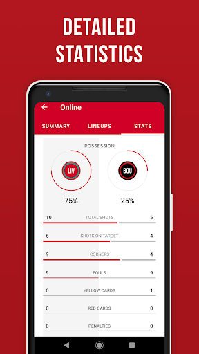 LFC Live – Unofficial app for Liverpool fans скриншот 8