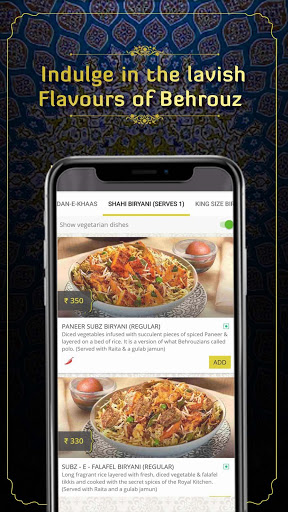 Behrouz Biryani - Order Biryani Online screenshot 7