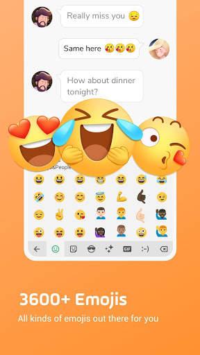 Facemoji Emoji Keyboard:DIY, Emoji, Keyboard Theme screenshot 3