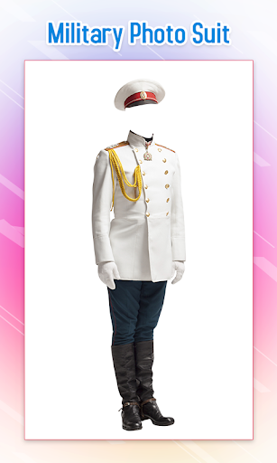 Military Photo Suit 4 تصوير الشاشة