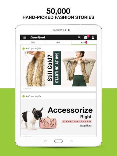 LimeRoad Online Shopping App for Women, Men & Kids screenshot 10