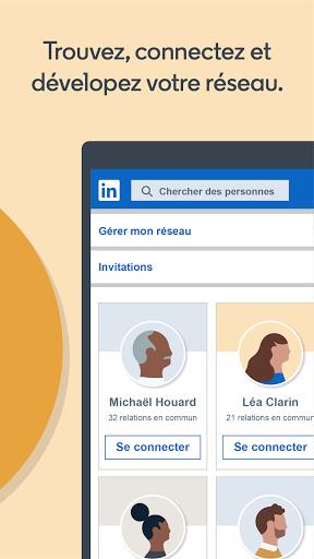 LinkedIn: recherche de job & nouvelles d'affaires screenshot 3