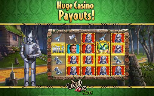 Wizard of OZ Free Slots Casino Games 7 تصوير الشاشة