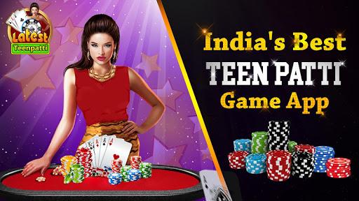 Latest Teen Patti - Free Online Indian Poker Game 1 تصوير الشاشة