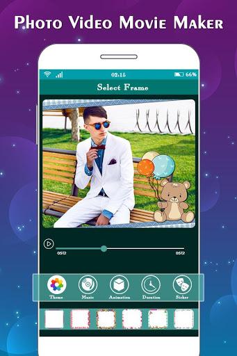 Photo to Video Maker with Music : Slideshow Maker 2 تصوير الشاشة