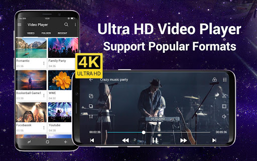 Video Player All Format for Android screenshot 1