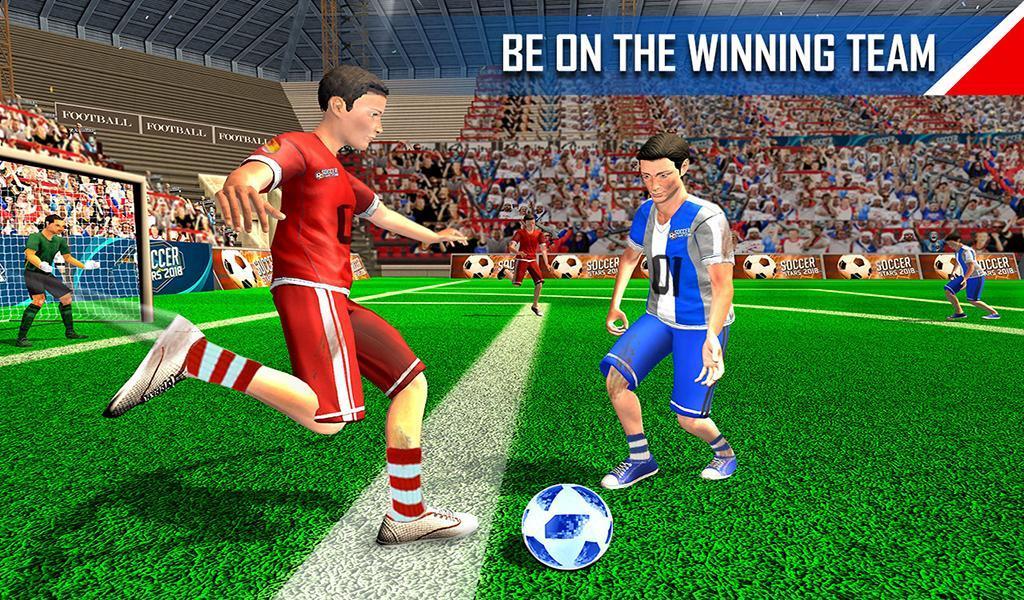 Real Football WC 2018 Dream League Soccer Stars 13 تصوير الشاشة