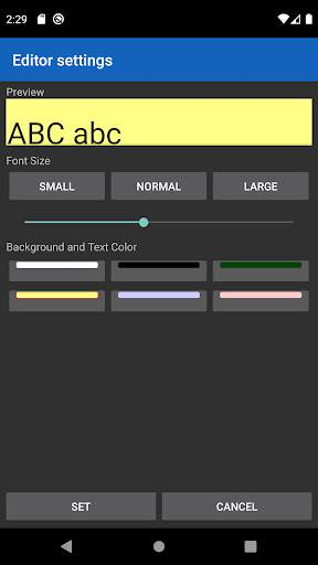 NP-Notepad screenshot 4