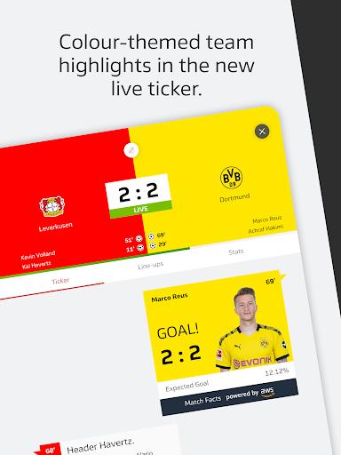BUNDESLIGA - Official App 13 تصوير الشاشة