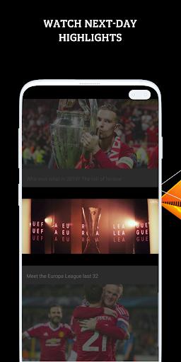 UEFA Europa League football: live scores & news screenshot 4