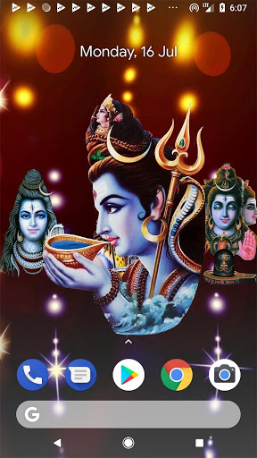 4D Shiv Shankara Live Wallpaper screenshot 1