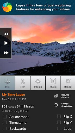 Lapse It • Time Lapse Camera 2 تصوير الشاشة