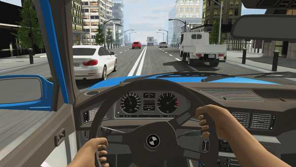Racing in Car 2 4 تصوير الشاشة