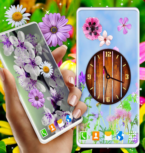 Spring Flowers Live Wallpaper 🌻 Summer Wallpapers скриншот 3