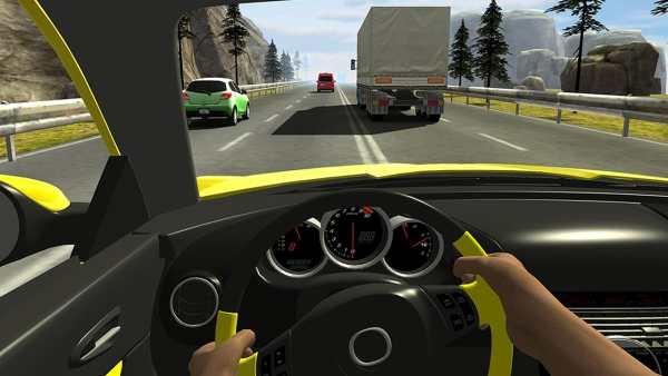 Racing in Car 2 5 تصوير الشاشة