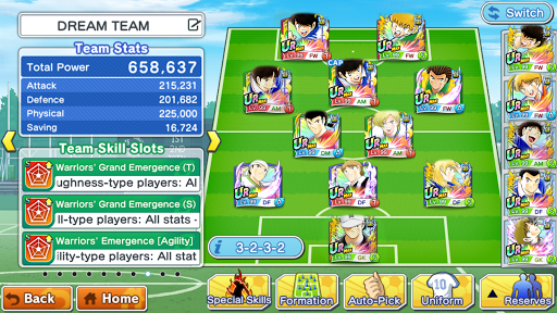 Captain Tsubasa (Flash Kicker): Dream Team स्क्रीनशॉट 5