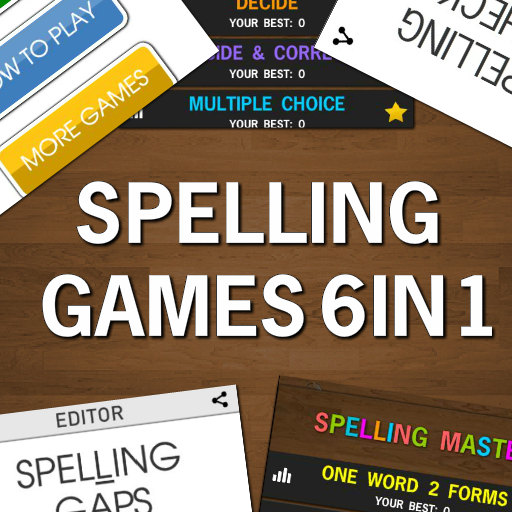 Spelling Games 6 in 1 - Free icon