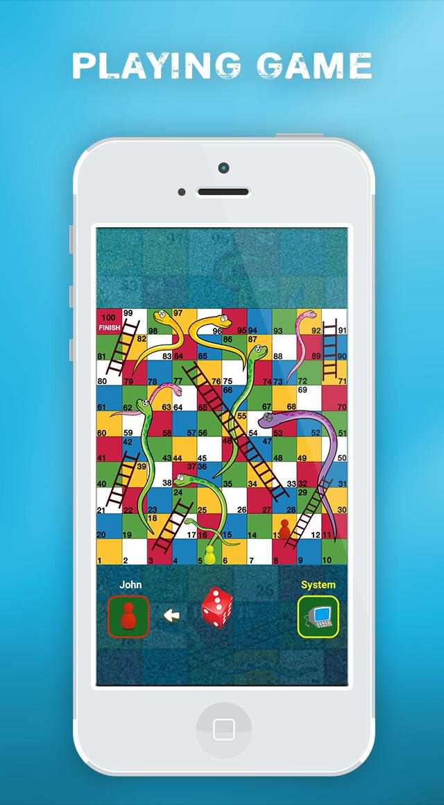 Snake & Ladders   Sap - Sidi 2K18 Game screenshot 3