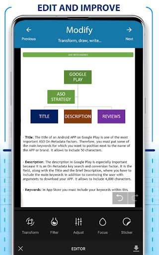 PDF Scanner - Scan documents, photos, ID, passport screenshot 3