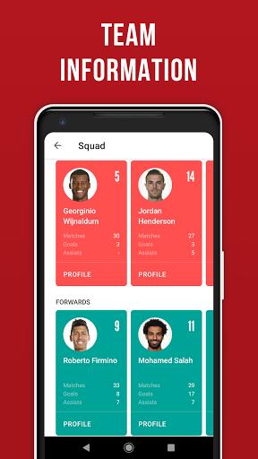 LFC Live – Unofficial app for Liverpool fans screenshot 7