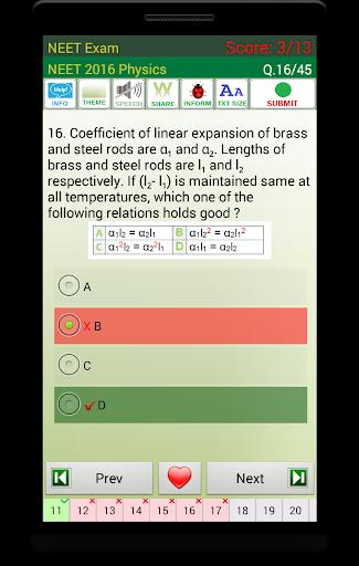 NEET Exam 2021 4 تصوير الشاشة
