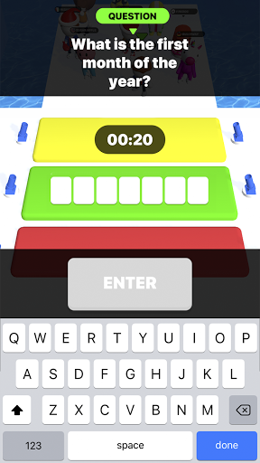 Type Sprint: Schnell schreiben. Renn-Spiele 3D screenshot 5