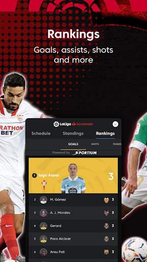 La Liga Official App - Live Soccer Scores & Stats screenshot 9
